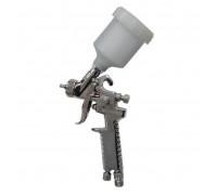 Краскораспылитель HVLP с верхним пластиковым бачком (бачок 250мл, сопло 0.8мм, 127л/мин)