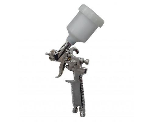 Краскораспылитель HVLP с верхним пластиковым бачком (бачок 125мл, сопло 0.8мм, 127л/мин)