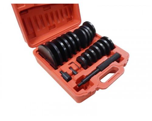 Набор оправок металлических для выпрессовки и запрессовки подшипников, втулок, сальников в комплекте