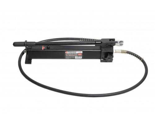 Насос гидравлический ручной(давление 20-700bar, объем масла-1.3л, длина-550мм, ширина-110мм, высота-