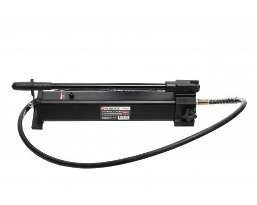 Насос гидравлический ручной(давление 20-700bar, объем масла-2.5л, длина-550мм, ширина-130мм, высота-