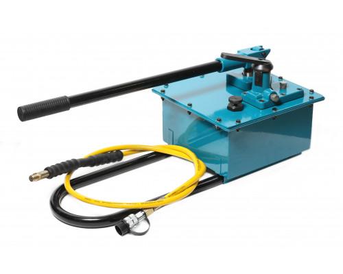 Насос гидравлический ручной в усиленном корпусе(20-700bar,емкость масла-7.5л, длина-740мм,ширина-310