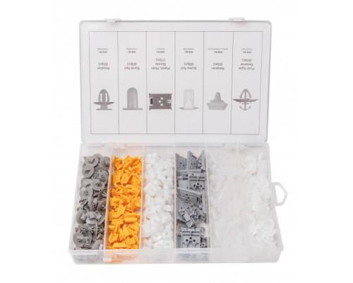 Набор клипс 300пр. (RENAULT), пластиковом органайзере