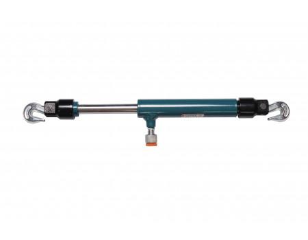 Цилиндр гидравлический обратного действия 2т (ход штока - 120мм, длина общая - 575мм, давление 616 b, F-0202