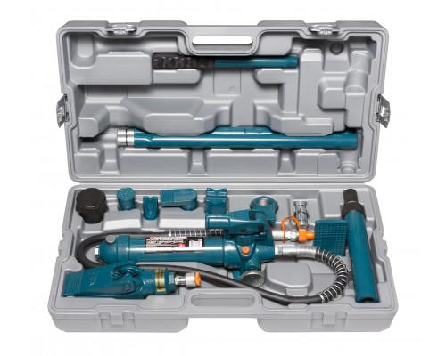 Набор гидравлического оборудования для кузовных работ, 4т, 14пр. (насос, цилиндры + комплект удлинит