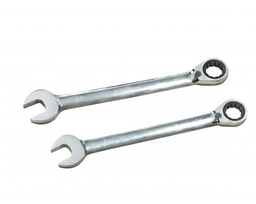 Ключ комбинированный трещоточный с реверсом 17мм