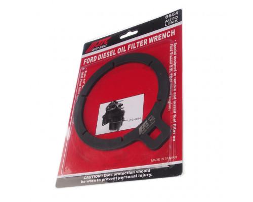 Ключ для демонтажа фильтра топливного (FORD Transit 2.2) JTC