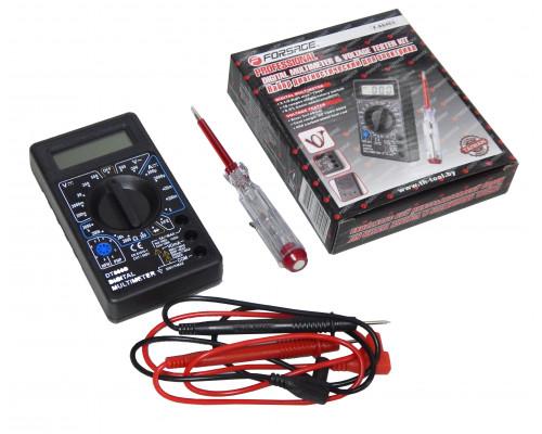 Набор диагностический для электрика (цифровой мультиметр, индикаторная отвертка)