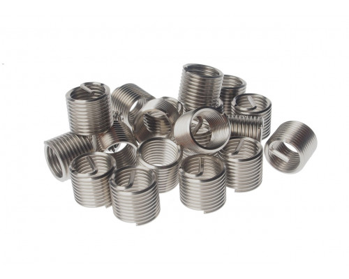 Набор инструментов для восстановления резьбы (вставки резьбовые М10х1.25 L=13.5мм, 20шт.) JTC