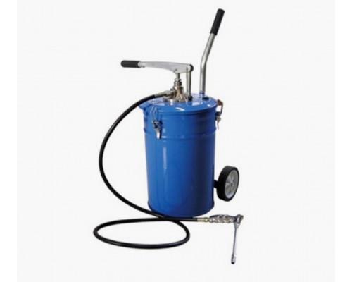Емкость для нагнетания густой смазки 20л с ручным насосом