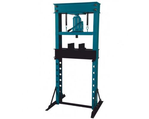 Пресс гидравлический напольный домкратного типа 30т, (рабочая высота: 0-970мм, рабочая ширина: 560мм