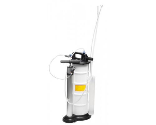 Установка для удаления отработанного масла с комплектом щупов пневматическая/ручная (9л, 0-11.9bar)