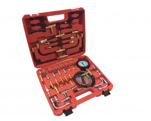 Набор для измерения давления в топливных системах (0-10bar), в кейсе