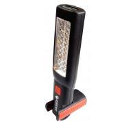 Лампа светодиодная аккумуляторная(2магнита,2крючка,180гр.,боковой свет 3W30LED,торцевой свет1W1LED,3