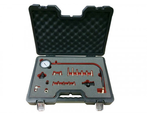 Тестер компрессии дизельного двигателя19пр. (М18х1.5мм, М24х2.0мм, М24х1.5мм, М10х1.0х68мм, М10х1.25