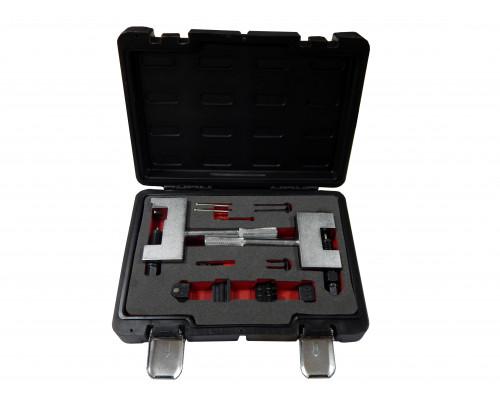 Комплект приспособлений для разборки и сборки цепей ГРМ, 12пр. в кейсе Premium