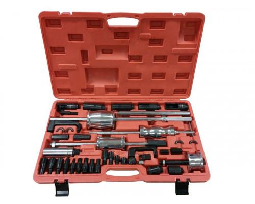 Комплект для снятия дизельных форсунок с обратными молотками, головками и резьбовыми адаптерами (гол