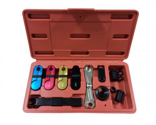 Комплект для разъединения быстросъемных соединений топливных систем и систем кондиционирования, 10пр