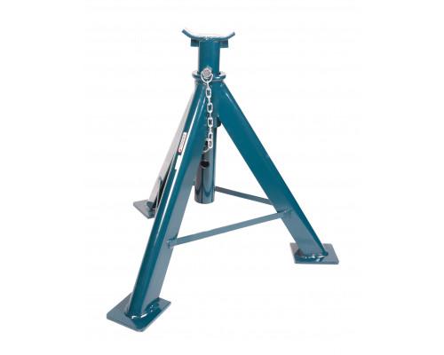 Подставка ремонтная механическая с фиксацией и упорными пятками 10т (h min-700мм,h max-980мм)