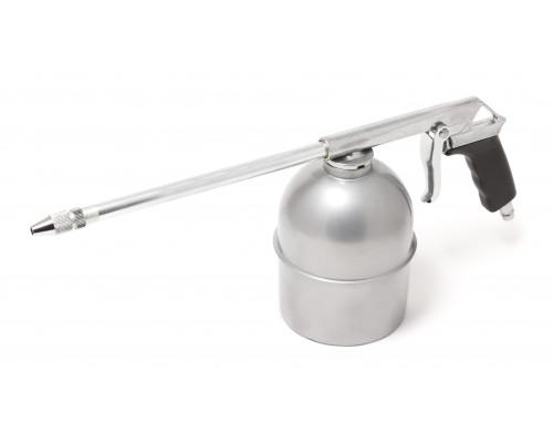Пневмопистолет для мойки двигателя с бачком(расход воздуха 130 л/мин, емкость бачка  600мл)
