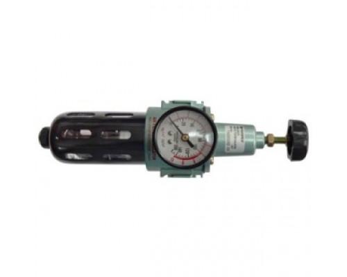 """Фильтр тонкой очистки 5Мк с регулятором и манометром для  пневмосистем 1/2"""""""