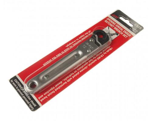 Ключ раскрывающийся 12мм 12-ти гранный L=150мм с трещоткой JTC