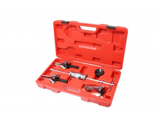 Набор съемников подшипников в комплекте с обратным молотком (внутр. диам. подшип.:15-30мм,30-80мм на