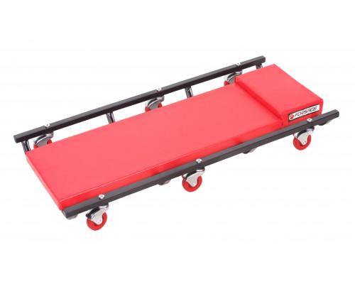 Лежак ремонтный подкатной на 6-ти колесах (425х920мм)