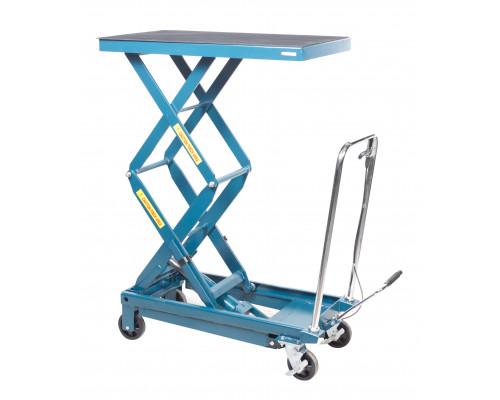 Стол подъемный  гидравлический для подъема и перевозки агрегатов 360кг (h min-360мм,h max-1290мм, 10