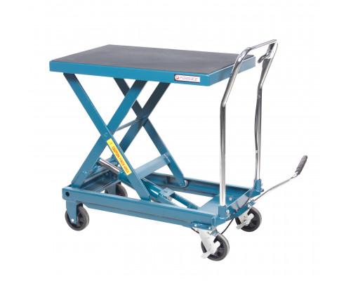 Стол подъемный  гидравлический для подъема и перевозки агрегатов 450кг (h min-280мм,h max-860мм, 950