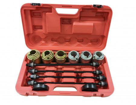 Комплект для снятия и установки втулок, подшипников и сайлентблоков универсальный, 26пр. (М10, М12, , F-933T1(-04B2031)