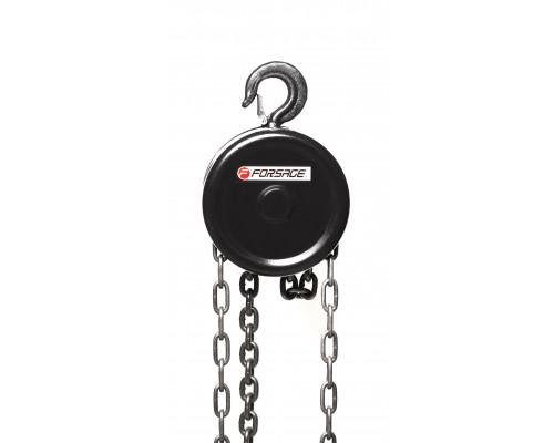 Лебедка механическая подвесная с фиксацией цепи натяжения, 0.5т (длина цепи - 2.5м)