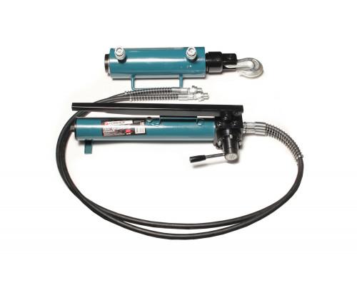 Комплект гидравлического оборудования прямого и обратного действия 40т (насос, цилиндр + 2 сменных к