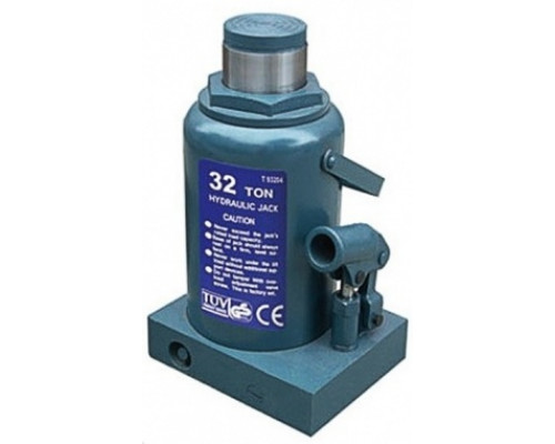 Домкрат бутылочный 32т с клапаном (h min 285мм, h max 465мм)