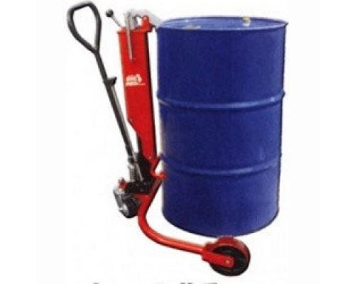Тележка гидравлическая для перевозки бочек