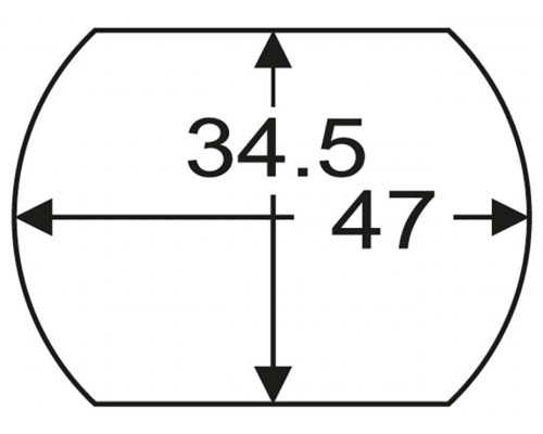 "Головка для снятия пальца рессоры задней 1"" 34.5х47мм (SCANIA) JTC"