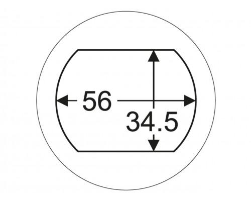 "Головка для снятия пальца рессоры задней 1"" 34.5х56мм (SCANIA) JTC"