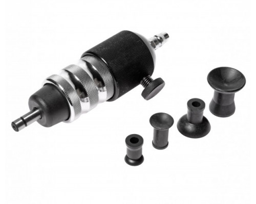 Приспособление для притирки клапанов пневматическое (Ø20, 30, 35, 40мм), в кейсе Premium