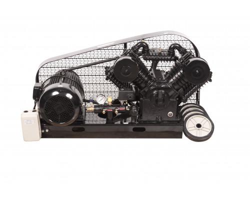 Голова компрессорная на платформе (мотор 7.5кВт,производительность 2000л/мин,650 об/мин.давление 12