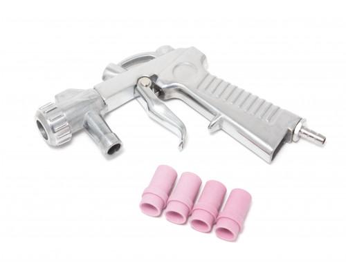 Пистолет для пескоструйного аппарата SBCG с комплектом сопел 4шт (4,5,6,7мм)