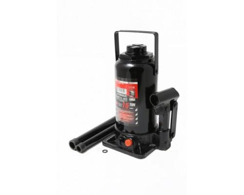 Домкрат бутылочный 30т  с клапаном(h min-255мм, h max-405мм, ход штока-150мм)