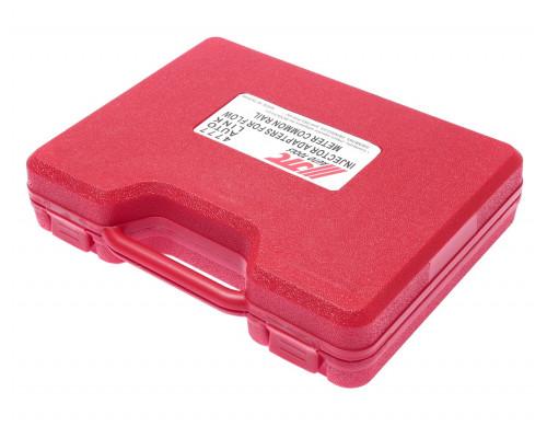 Набор адаптеров форсунок для измерения расхода топлива JTC-4776 24 предмета в кейсе JTC