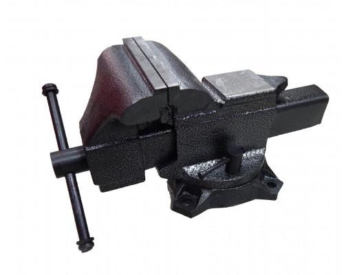 """Тиски стальные поворотные с наковальней 5"""" - 125мм"""