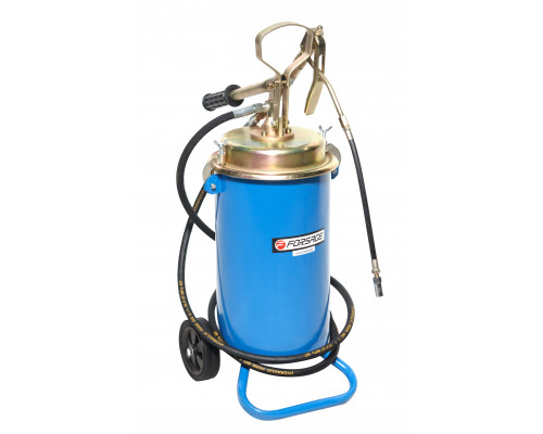 Ручной перекатной нагнетатель смазки под закладку 13кг(50:1, производительность: 0-0.75 л/мин, давле