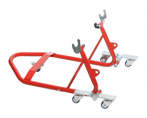 Подставка под заднее колесо мотоцикла подкатная, 340кг