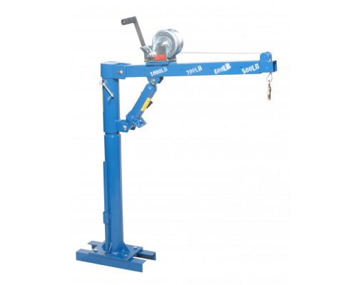 Кран гидравлический для пикапа мини, 0,5т (высота подъема: 870-1800мм)