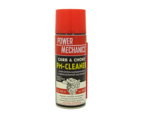 Очиститель карбюратора 450 мл. (нетто 309 гр.) /PowerMechanics-PM-CLEANER/