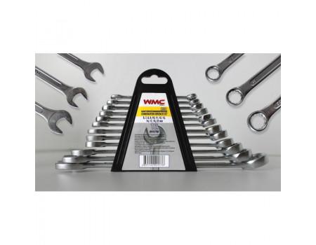 Набор ключей комбинированных 12пр. (6-14, 17, 19, 22мм) в пластиковом держателе, 5123