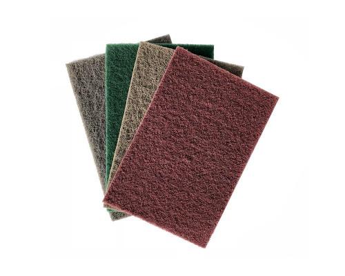 Нетканый абразивный материал 152х229мм FINE, зелёный