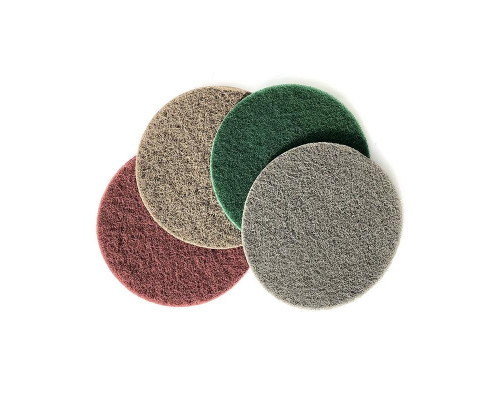 Нетканый абразивный материал 150мм FINE, зелёный